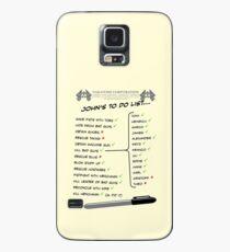 John McClane's To Do List Case/Skin for Samsung Galaxy