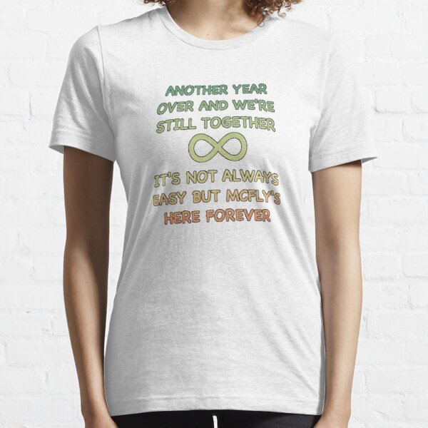 McFly's Here Forever  Essential T-Shirt