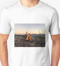 Scenic Flames Unisex T-Shirt