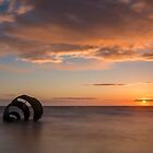 Mary's Shell at sunset by Martin Lawrence