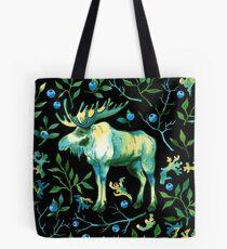 Watercolor elk Tote Bag