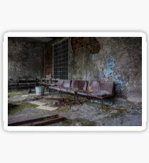 chernobyl pripyat hospital Sticker