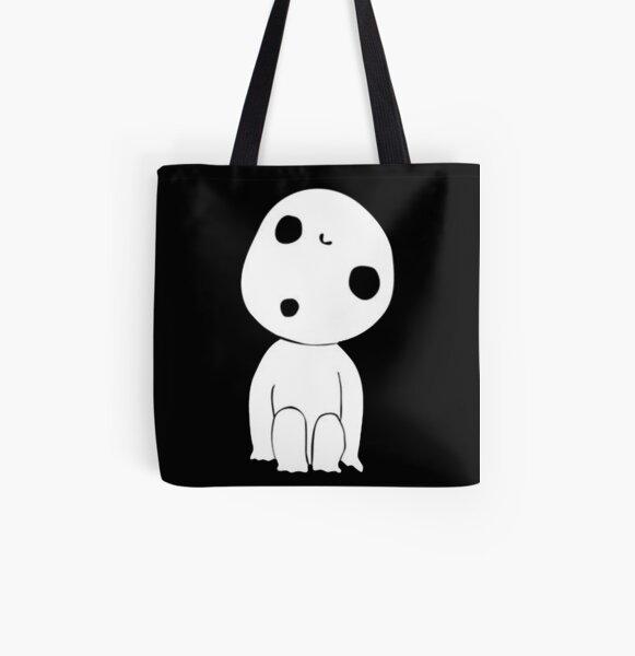 Kodama Little spirit Princess Mononoke Tote bag doublé