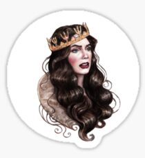 Queenie Sticker