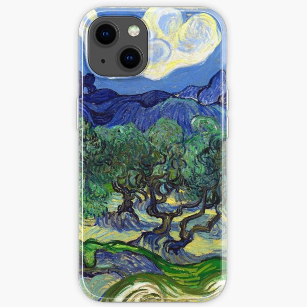 Vincent van Gogh The Olive Trees iPhone Soft Case