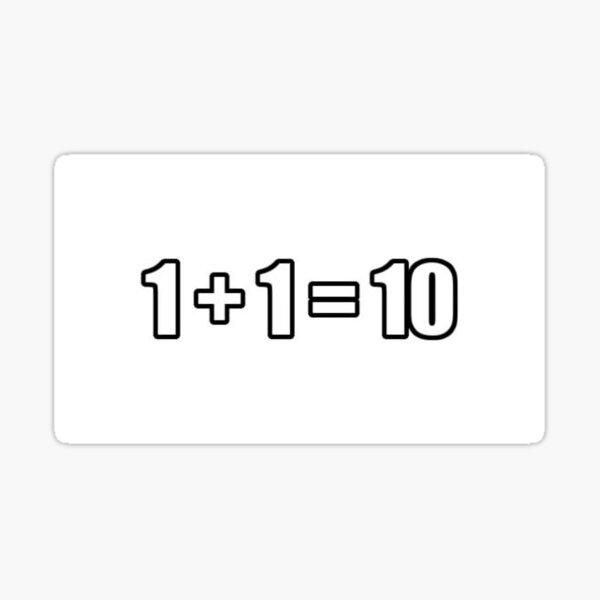 Programming math Sticker