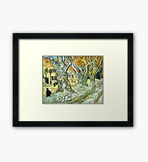 Vincent van Gogh The Road Mender Framed Print