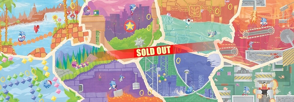 S. the Hedgehog Fresco - SOLD OUT by orioto