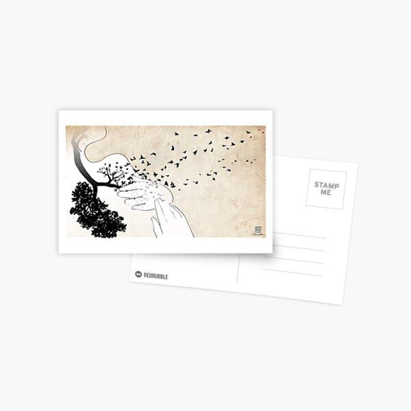 Bird Lungs Postcard