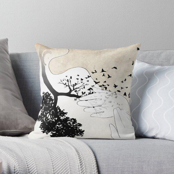 Bird Lungs Throw Pillow