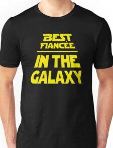 Best Fiancee in the Galaxy - Slanted Unisex T-Shirt