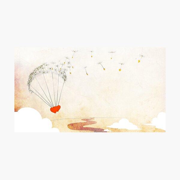 Parachute Photographic Print