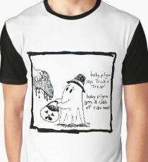 Baby Pilgrim Halloween Graphic T-Shirt
