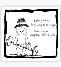 Baby Pilgrim Gym Sticker
