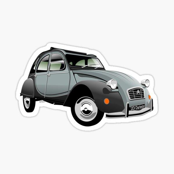 Citroën 2CV Charleston gris Sticker