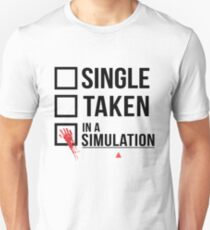 Relationship Status - Person of interest - Sameen Shaw Unisex T-Shirt