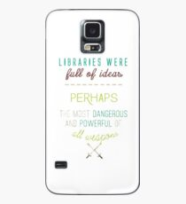 Sarah J. Maas quote - Throne of glass Case/Skin for Samsung Galaxy