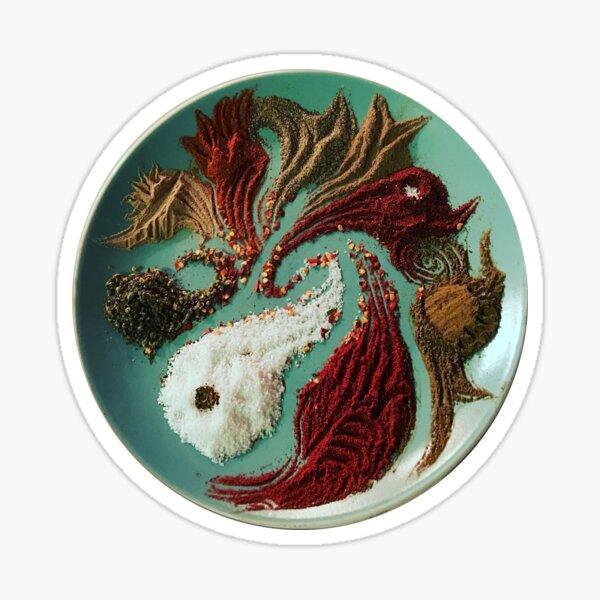 Gumbo Spice Art Sticker