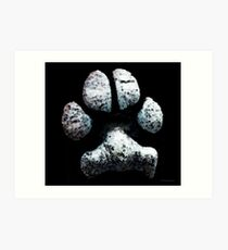 Animal Lovers - South Paw Art Print