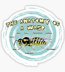 The Anatomy of a Wasp Sticker
