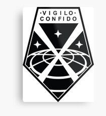 XCOM Logo Metal Print