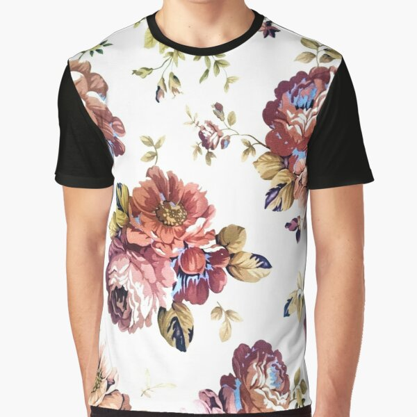 Ornamental pattern with purple color Graphic T-Shirt