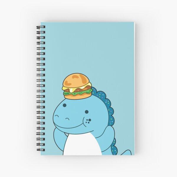 Moriah Elizabeth cousin derp the dinosaur Spiral Notebook