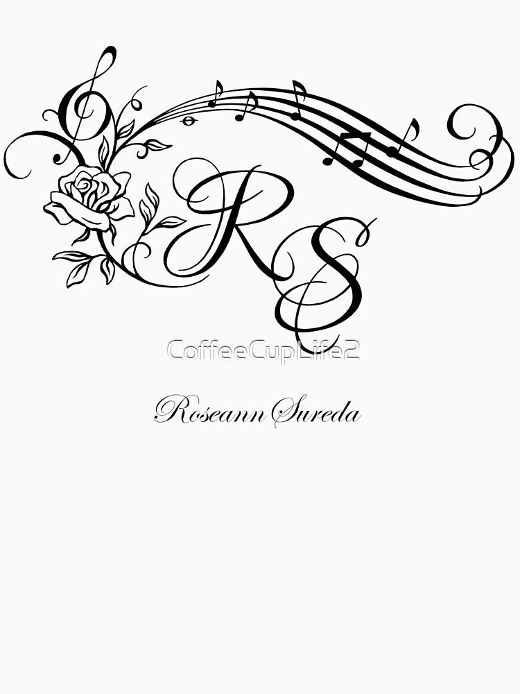 Roseann Sureda Logo by CoffeeCupLife2