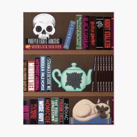 Murderino Book Club Art Board Print