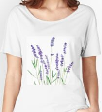 purple lavender  Women's Relaxed Fit T-Shirt