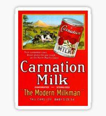 Carnation Milk Sticker