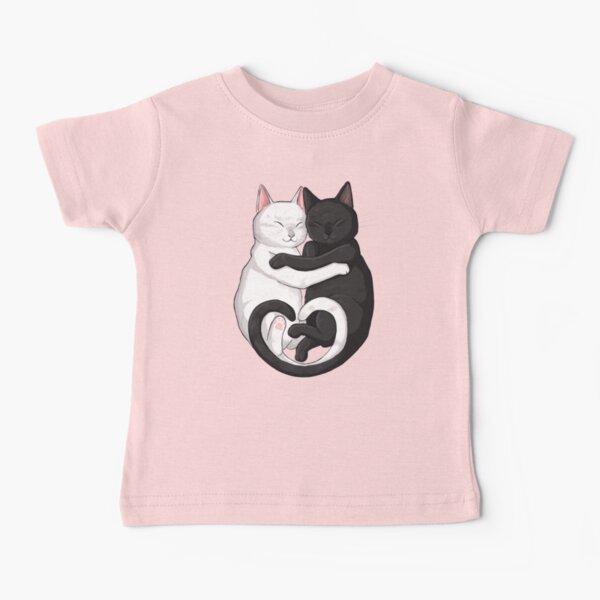 Hugging Cats Baby T-Shirt