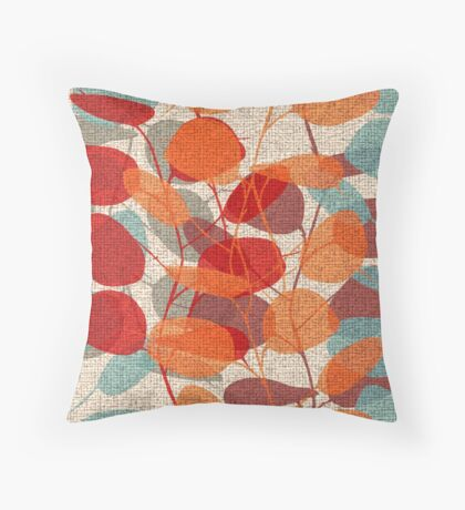 Lunaria Throw Pillow