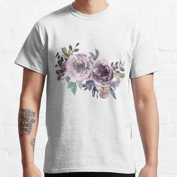 Ornamental pattern with purple Vol.1 Classic T-Shirt