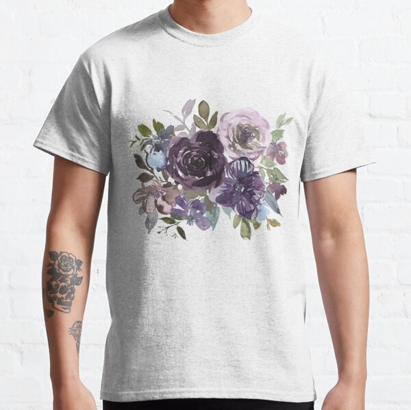 Ornamental pattern with purple Vol.2 Classic T-Shirt