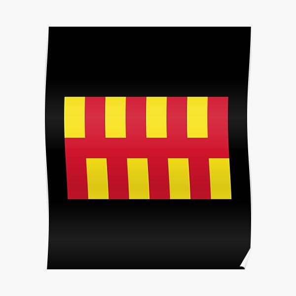 Northumberland flag Poster