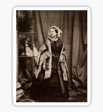 Queen Victoria photographed by John Jabez Edwin Mayall,  Sticker