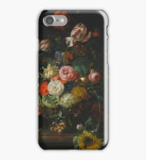 Rachel Ruysch THE HAGUE  AMSTERDAM STILL LIFE OF ROSES, TULIPS iPhone Case/Skin