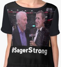Stay Strong Sager Women's Chiffon Top