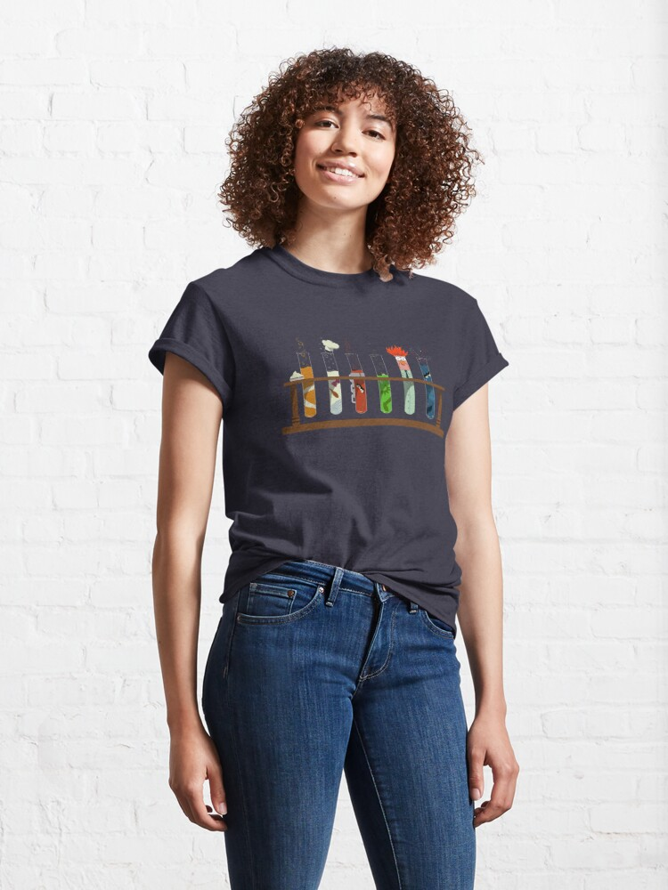 Alternate view of Muppet Science - Chemistry  Classic T-Shirt