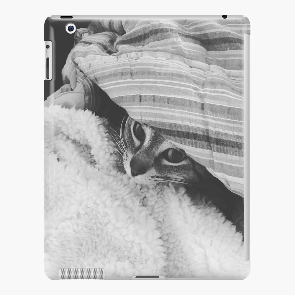 Cat Under Cover iPad Case & Skin