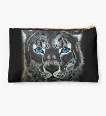 Snow Leopard  Studio Pouch