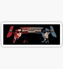 BLUES BROTHERS POLICE CHASE Sticker