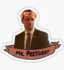 Fitzgerald Grant - Flower Crown Sticker