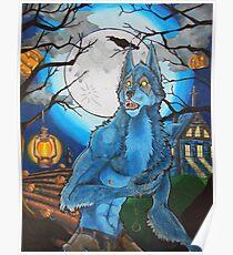Halloween Werewolf  Poster