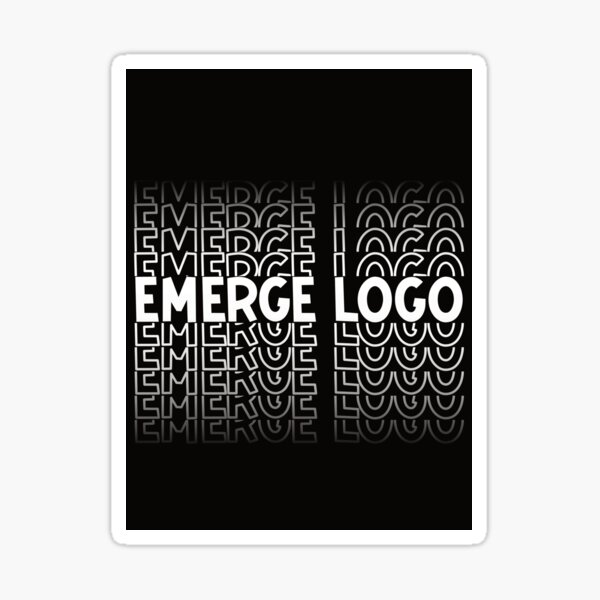 Copy of EmergeLogo Sticker