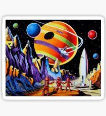 NEW WORLDS Sticker