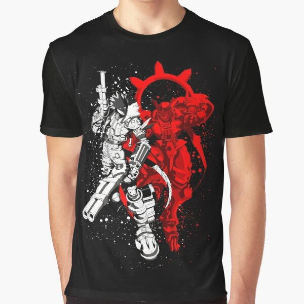 Susanoomon and Beelzemon Graphic T-Shirt