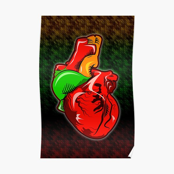 Reggae Heartbeat Poster