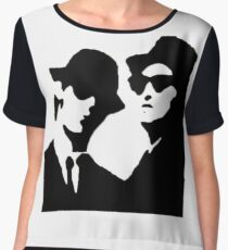 blues brothers Chiffon Top